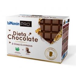 BIMANÁN PRO dieta chocolate 3 días express