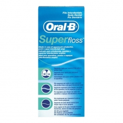 Oral b Superfloss Hilo dental