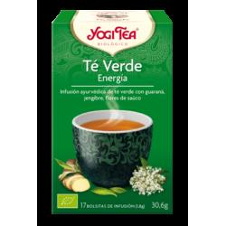 Yogi tea verde  energia 17 Bolsitas
