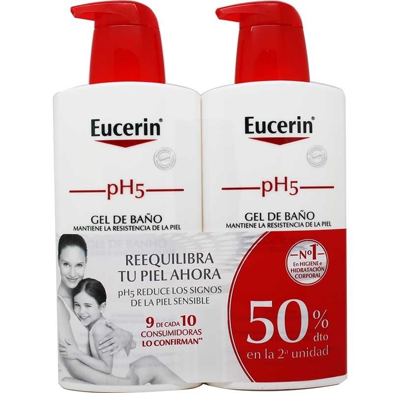 Eucerin PH5 pack oferta gel de baño 400ml