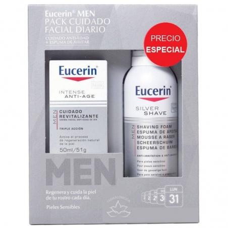 Eucerin  pack  cuidado facial men