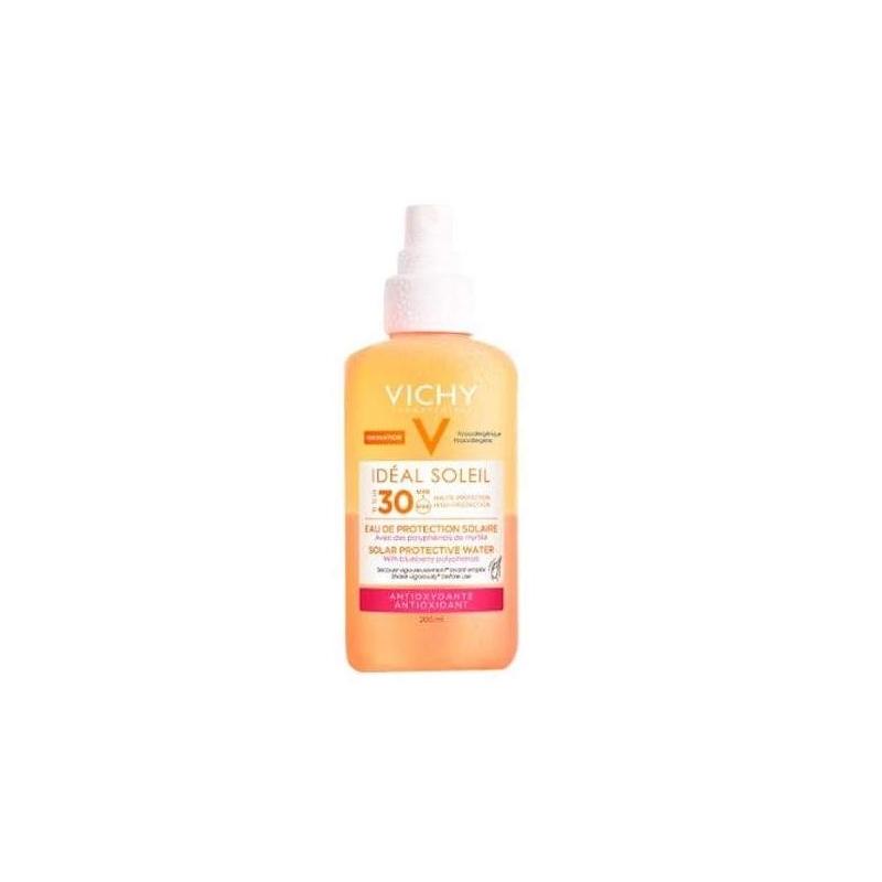Ideal  soleil  spf30 agua proteccion  antioxidante