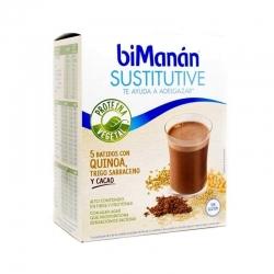 BIMANAN sustitutive batido quinoa cacao 5 sobres