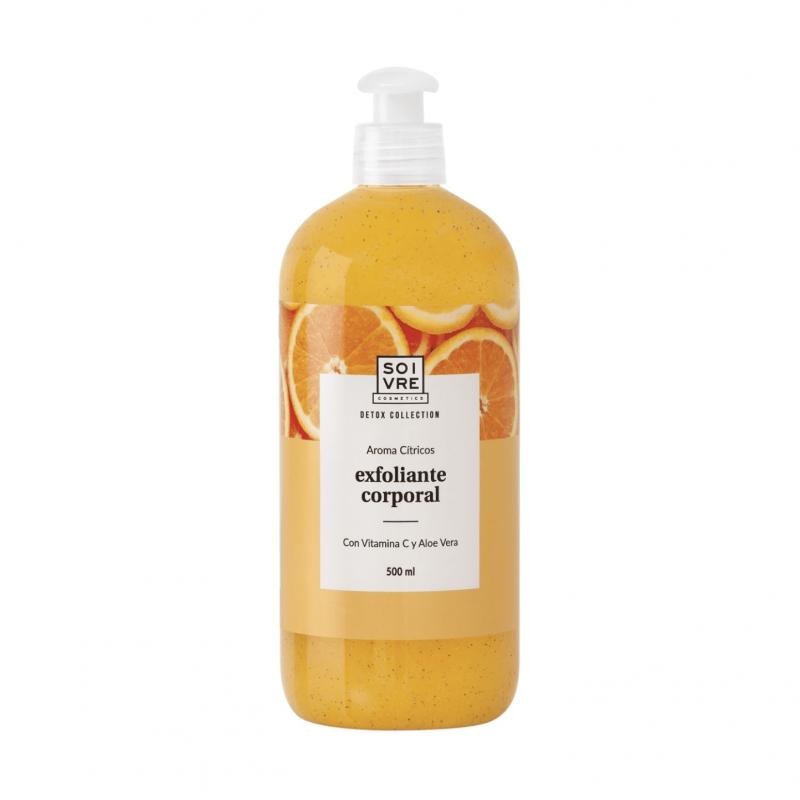 Soivre exfoliante corporal gel de baño cítricos 500 ml