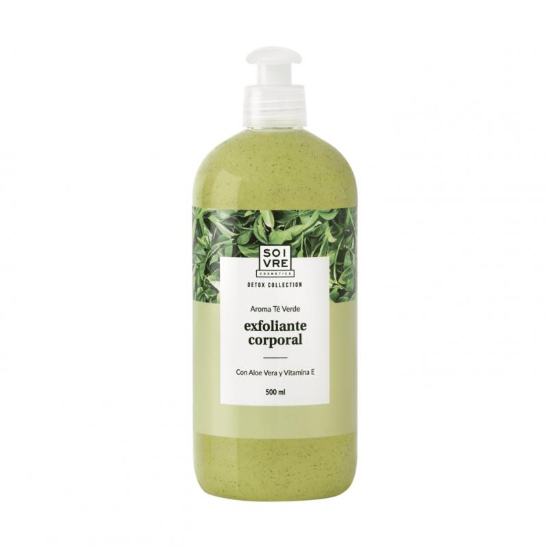 Soivre exfoliante corporal gel de baño te verde 500 ml