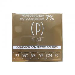 Delapiel conexión ampollas proteoglicanos con filtros solares