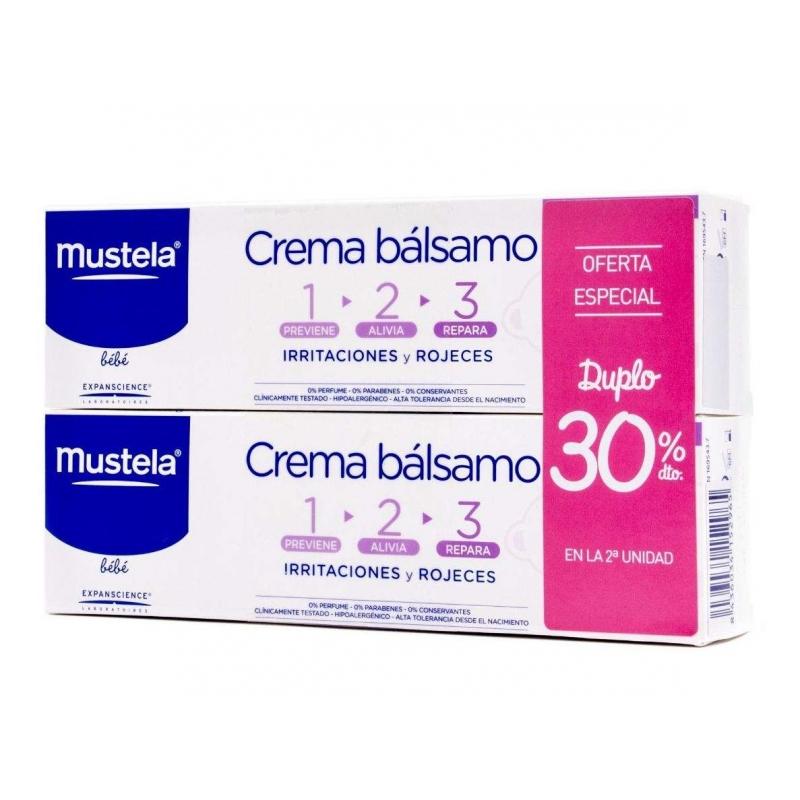MUSTELA CREMA BALSAMO 100ML DUPLO