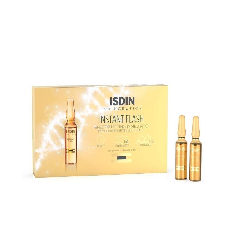 Isdinceutics instant flash 2ml 5 ampollas