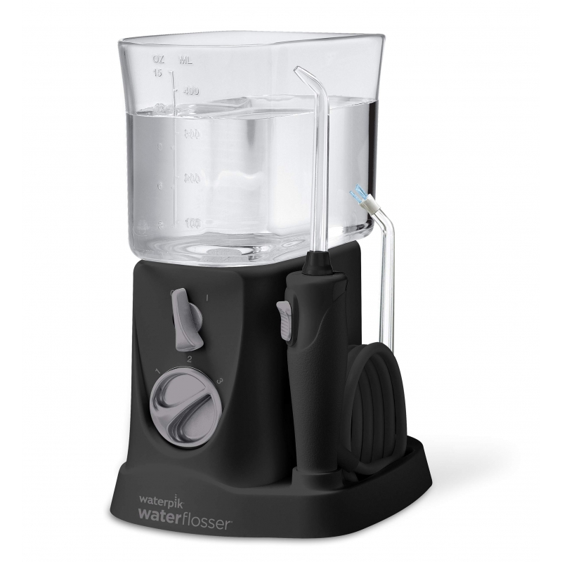 Waterpik irrigador bucal traveler color negro