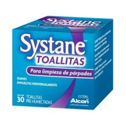 Systane 30 toallitas limpieza ocular