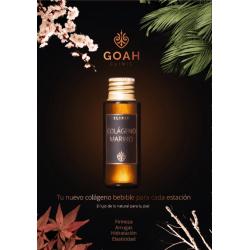 Goah clinic elixir colágeno 20 viales