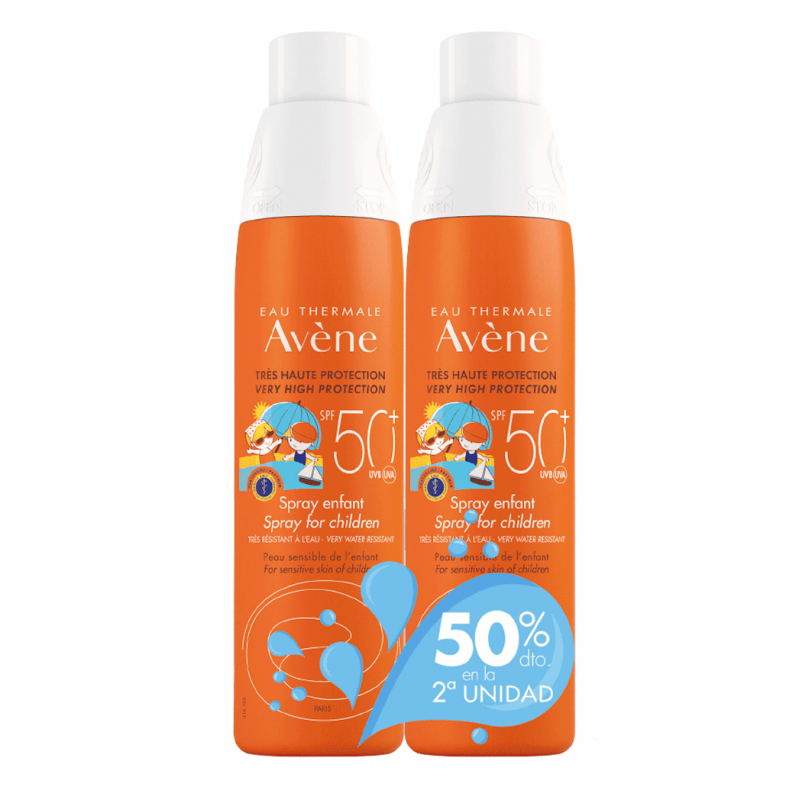 Avene duplo Spray niños  SPF50+  200ml