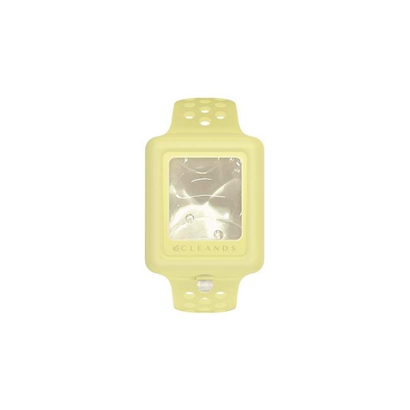 Cleands pulsera de gel hidroalcohólico color amarillo