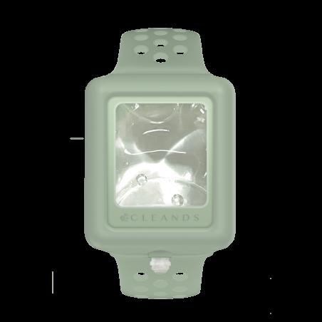Cleands pulsera de gel hidroalcohólico color verde