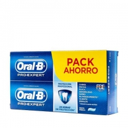 Oral B Duplo Pro-expert Pasta Dentífrica Protección profesional Pack Ahorro