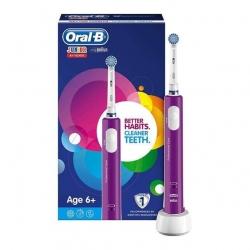 Oral B Cepillo Eléctrico Recargable Junior Morado + 6 Años