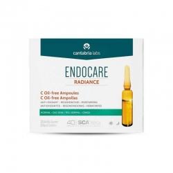 Endocare Radiance C Oil-free Ampollas Piel Grasa 10 Unidades