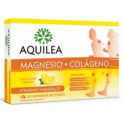 AQUILEA magnesio + colágeno 30 comp. masticables