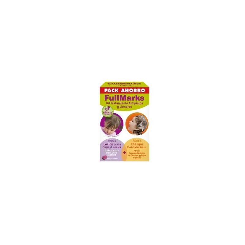 Fullmarks pack ahorro LOCIÓN + CHAMPÚ post-tratamiento.