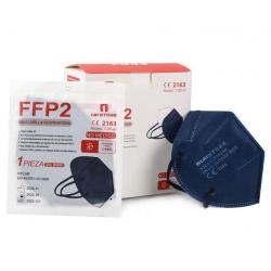 Mascarilla FFP2 azul marino Certificado CE Mistore