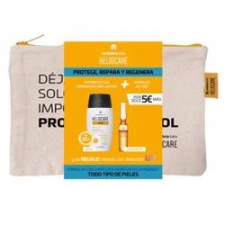 Heliocare 360º SPF 50 Water gel 50ml + 10 ampollas Endocare Radiance + Regalo Neceser