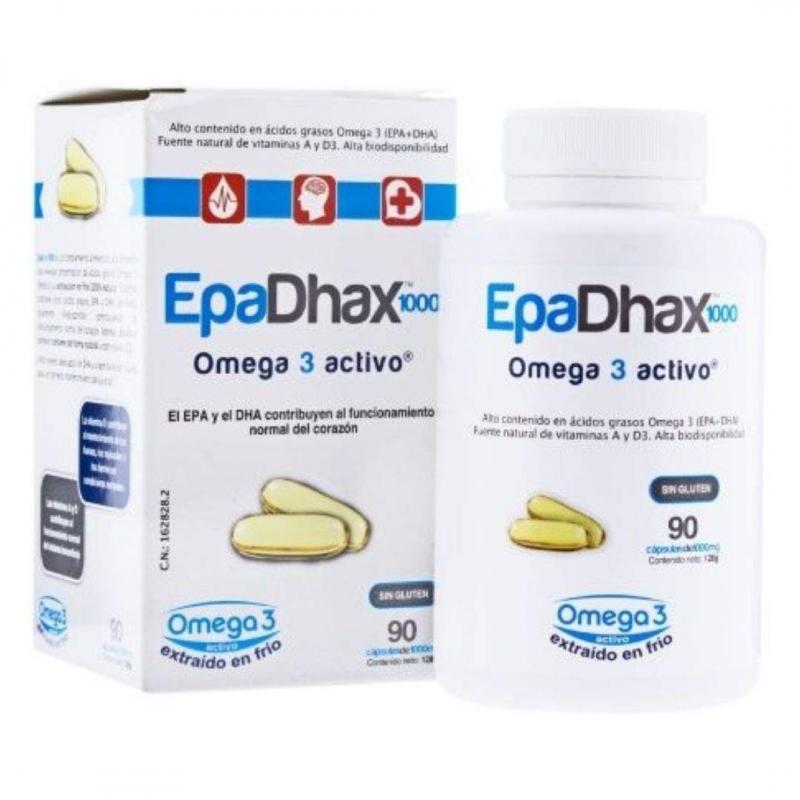Epadhax Omega 3 Activo 90 cápsulas