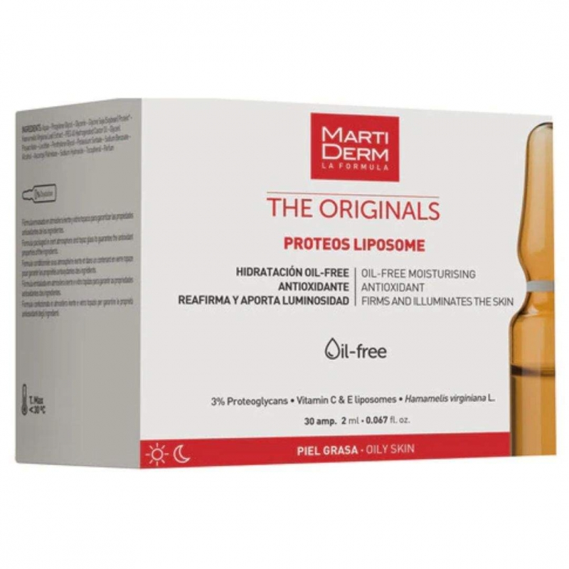 Martiderm Ampollas Proteos Liposome 30 ampollas