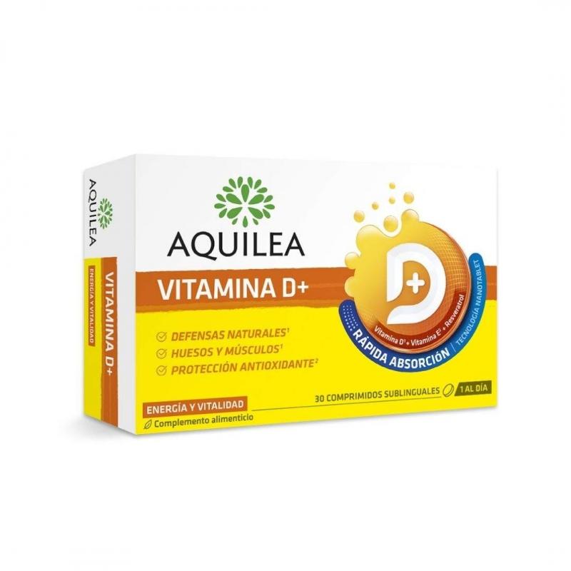 Aquilea Vitamina D+ 30 Comprimidos