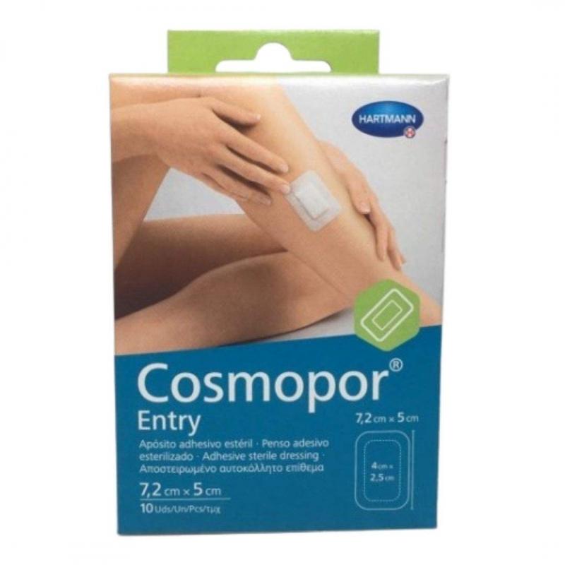 Cosmopor Entry Apósito Estéril 7.2 x 5 10 unidades