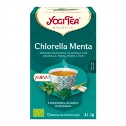 Yogi Tea Infusión Chlorella Menta