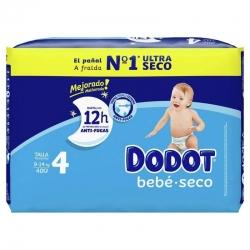 Pañal Dodot Talla 4 Bebé Seco