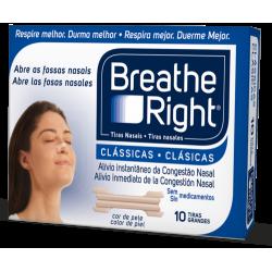 BREATHE RIGHT tiras nasales 10 udes