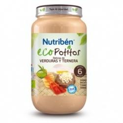 NUTRIBEN Eco Potitos delicias de verduras y ternera 250g